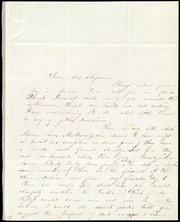 Letter to] Dear Mrs. Chapman [manuscript