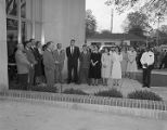Grand opening of the Cloverdale Branch of the First National Bank of Montgomery at 416 Cloverdale Road in Montgomery, Alabama.