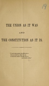 The Union as it was