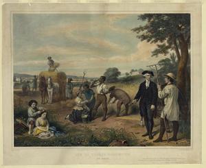 Life of George Washington--The farmer