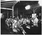 #266. Bible class, Army Y.M.C.A., Building No. 1, Camp Travis, Texas