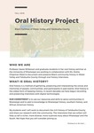 Oral History Project: Black Families of Yalobusha County