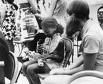 Girl at demonstration