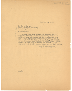 Letter from W. E. B. Du Bois to The Association for the Study of Negro Life and History