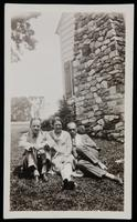 Photograph of Water White, Grace Nail and James Weldon Johnson at Five Acres