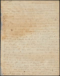 Letter from Arnold Buffum, Philadelphia, [Pennsylvania], to William Lloyd Garrison and Isaac Knapp, 1834 [December] 4