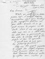 Letter from H.V. Still to Governor Clement regarding segregation