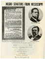 Negro Senators from Mississippi