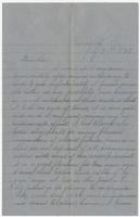 "Letter to ""Dear Sue"""