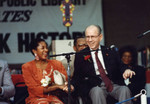 Thumbnail for Marla Gibbs and Kenneth Hahn Shake Hands