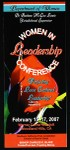 Woman in leadership conference, Southern California, COGIC, 2007, flier