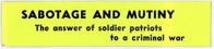Night Raiders--Sabotage And Mutiny--The Answer Of Soldier Patriots To A Criminal War