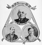 Freemasonry in Mississippi, 1868; Rev. T. W. Stringer, M.D.; First G.M.; Hon. M. M. McLeod; Atty Law, P.G.M.; Rev. E. W. Lampton, D.D.; G.M