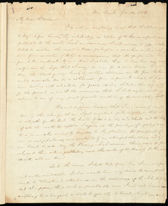Letter from Charles Wheeler Denison, New York, to William Lloyd Garrison, Jan. 14, 1834
