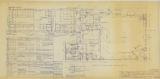 Masonic Temple, Perfect Ashlar Lodge #4, First Floor Plan