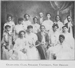 Graduating class, Straight University, New Orleans