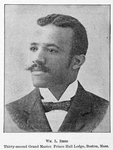 Wm. L. Reed; Thirty-second Grand Master, Prince Hall Lodge, Boston, Mass