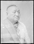 Three-fourths view of Chief Olohowallah 1904