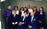 Group portrait photograph of the Goynes family, 2005