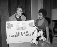 An Irish Sweepstakes event.