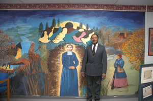 Thumbnail for Harriet Tubman Underground Railroad Byway - Standing Before the Harriet Tubman Organization Mural