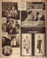 Photomontage of a party held in Belle Meade, and two ads. Nashville Tennessean, 1929 March 3.