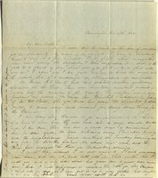 Letter from Charlotte to Samuel Cowles, 1840 February 29.