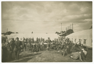 Photograph of Jim Europe's 369th Infantry Harlem Hellfighters Brass Band