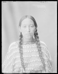 Unidentified Arapaho woman (front bust) 1904