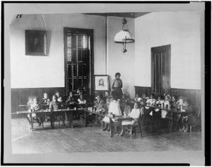Kindergarten at Haines Normal and Industrial Institute, Augusta, Georgia