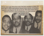 Woolworth Corporation advertisement commemorating the the Greensboro sit-ins
