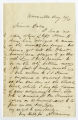 Letter by H. H. Williams, Knoxville, to Ziba Oakes