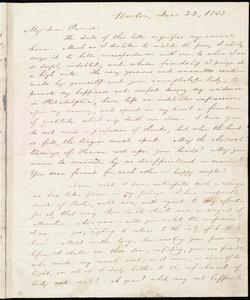 Letter from William Lloyd Garrison, Boston, [Mass.], to Robert Purvis, June 22, 1832