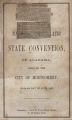 """Excerpt from """"Proceedings of the National Democratic State Convention, of Alabama, Held in the City of Montgomery, on the 4th Day of June 1860."""""""