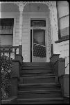 Jesse Fuller entering his house at 1679 11th St, Oakland, California