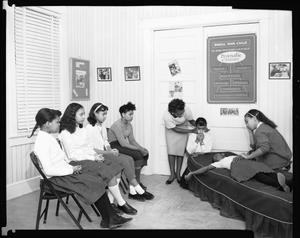 Goins Music School Group, Feb. 1960 [cellulose acetate photonegative]