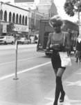 Woman on Hollywood Boulevard