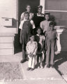 Photograph of the first family in Carver District, October 13, 1943
