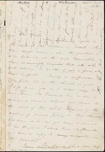 Letter from Harriet Beecher Stowe, [Andover, Massachusetts], to William Lloyd Garrison, [1854 February 18]