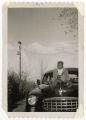 Boy on a car
