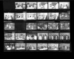 Set of negatives by Clinton Wright including Governor Saywer's visit to Elks, Charles Banks' anniversary, and circus day at Operation Independence, 1966