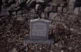 Alexandria Cemeteries Historic District: Green tombstone