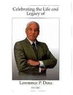 Celebrating the life and legacy of Lawrence P. Doss, Rev. Mangedwa C. Nyathi and Chuck Stokes, presiding, Monday, November 5, 2001, noon, Hartfod Memorial Baptist Church, Detroit, Michigan
