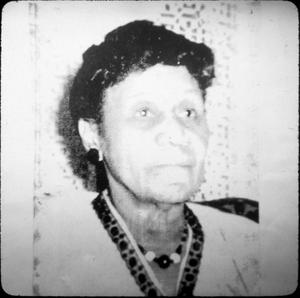African-American Woman in Harrison County