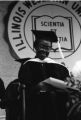 Gwendolyn Brooks was an American poet, author, and teacher, the first African American to win the Pulitzer prize. Brooks visited IWU five times between 1972 and 1999. Brooks being awarded an honorary doctorate at the 1973 commencement.