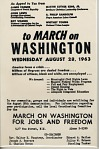 March on Washington Handbill