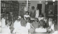 Story time at McRae Library in Reidsville