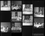 Set of negatives by Clinton Wright including a sorority convention, and the Gama Phi Deltas, 1967