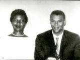 Helen Thomas Williams and James Williams. Wedding Photograph.