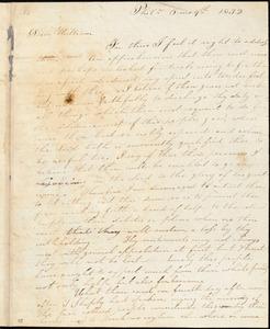 Letter from Lydia White, Phila[delphia, Pennsylvania], to William Lloyd Garrison, 1832 [June] 9th